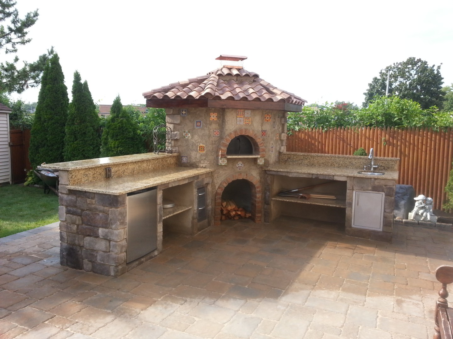 brick ovens 3d construction